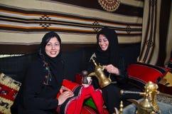arabiska kvinnor Royaltyfri Fotografi