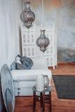 Arabiska lampor Arkivbilder