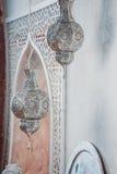 Arabiska lampor Arkivfoto