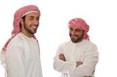 arabiska män Arkivfoto