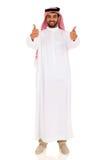 Arabiska mantummar upp Fotografering för Bildbyråer