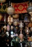 Arabiska marockanska lyktor Royaltyfria Bilder