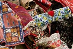 arabiska mattor Royaltyfria Bilder