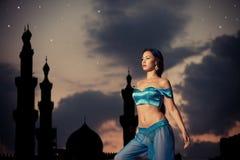 Arabiska nätter royaltyfri bild