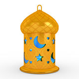 Arabiska Ramadan Lantern Arkivfoto