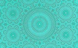 Arabiska tegelplattor Royaltyfri Fotografi
