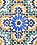 Arabiska tegelplattor Fotografering för Bildbyråer