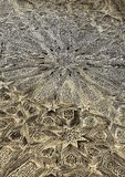 Arabiskacarvings i trät Arkivfoto