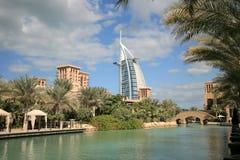 arabiskt burjhotell Royaltyfri Fotografi