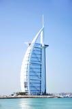 arabiskt burjhotell för al Arkivbild