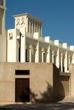 arabiskt byggande dubai gammalt enigt arkivbilder