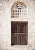 Arabiskt fönster Arkivbild