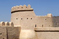 Arabiskt fort i Ras al Khaimah Arkivbild