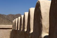 Arabiskt fort i Ras al Khaimah Royaltyfria Foton