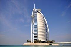 Arabiskt hotell för Burj Al Royaltyfri Fotografi