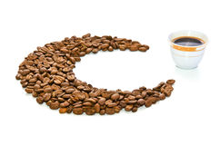 arabiskt kaffe Arkivbilder