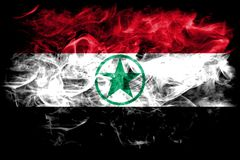 Arabistan smoke flag, Iran dependent territory flag.  Stock Photography