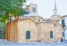The Arablar Djami. Mosque was originaly built as the Stavros tou Missirikou church, converted into a mosque during the Ottoman conquest, Nicosia, Cyprus Stock Image