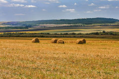 Arable farmland in the countryside Royalty Free Stock Image