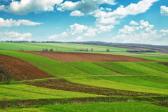 Arable land Royalty Free Stock Photography