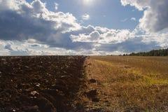 Arable land Stock Photo
