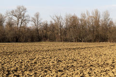 Arable land Royalty Free Stock Images