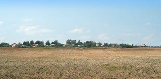 arabled ландшафт поля много Стоковая Фотография