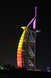 Arabo di Al di Burj dell'hotel, Doubai fotografie stock