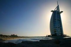 Arabo di Al di Burj, Doubai Fotografia Stock