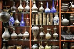 Arabscy dzbanki i wazy Obrazy Stock