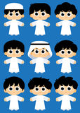 Arabscy dzieciaki Obrazy Royalty Free