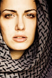 arabska świderkowata kobieta fotografia royalty free