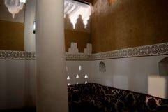arabska architektury Drzwi i okno z krajowymi wzorami i ornamentami obraz royalty free