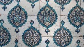 Arabska ceramiczna ściana Zdjęcia Stock