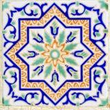 arabska ceramiczna dekoraci stylu ściana Obrazy Stock