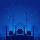 arabska magiczna noc ilustracji