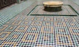 Arabska mozaiki dekoracja na podłoga Obraz Royalty Free