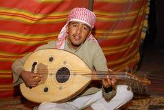 Arabska muzyka Zdjęcia Stock