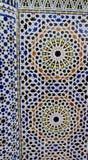 Arabska ornament dekoracja na ścianie Obraz Royalty Free