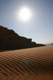 arabska pustynia Obrazy Royalty Free