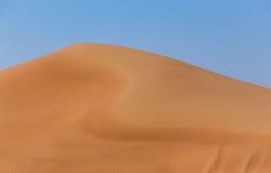 Arabska pustynia Zdjęcie Stock