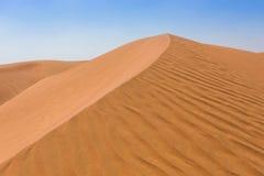 Arabska pustynia Fotografia Stock