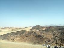 Arabska pustynia Zdjęcia Stock