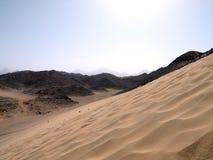 Arabska pustynia Zdjęcie Royalty Free