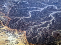 Arabska pustynia, Afryka Zdjęcia Stock