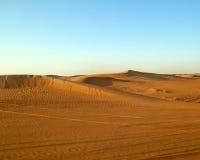 Arabska pustynia, Dubaj Obraz Royalty Free