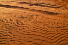 Arabska pustynia, Dubaj Zdjęcia Royalty Free