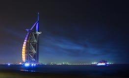 arabski al burj Dubai Obraz Royalty Free