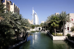 arabski al burj Dubai Fotografia Royalty Free