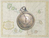 Arabski astrolabium Zdjęcie Royalty Free